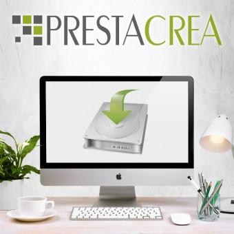 Installation de thème Prestacrea