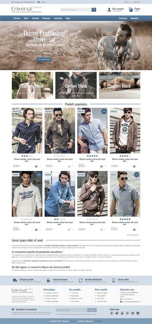 Thème Prestashop Universal Fashion