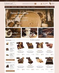 Thème Prestashop Universal Food