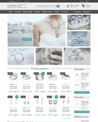 Thème Prestashop Universal Jewelry