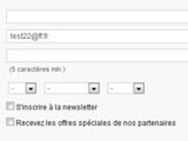 [Tutoriel] Gérer l'affichage des cases inscription newsletter et offres partenaires