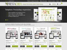 Refonte de la charte graphique du site Prestacrea